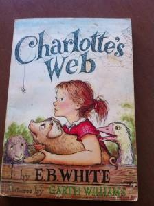 I still have my old copy of Charlotte's Web.