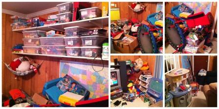 playroom mess