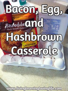 Bacon, Egg, and Hashbrown Casserole Recipe